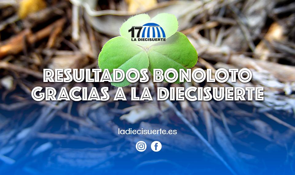Resultados Bonoloto gracias a La Diecisuerte