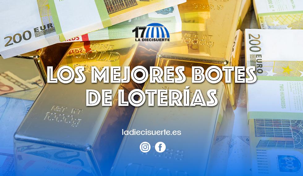 Los mejores botes de la lotería